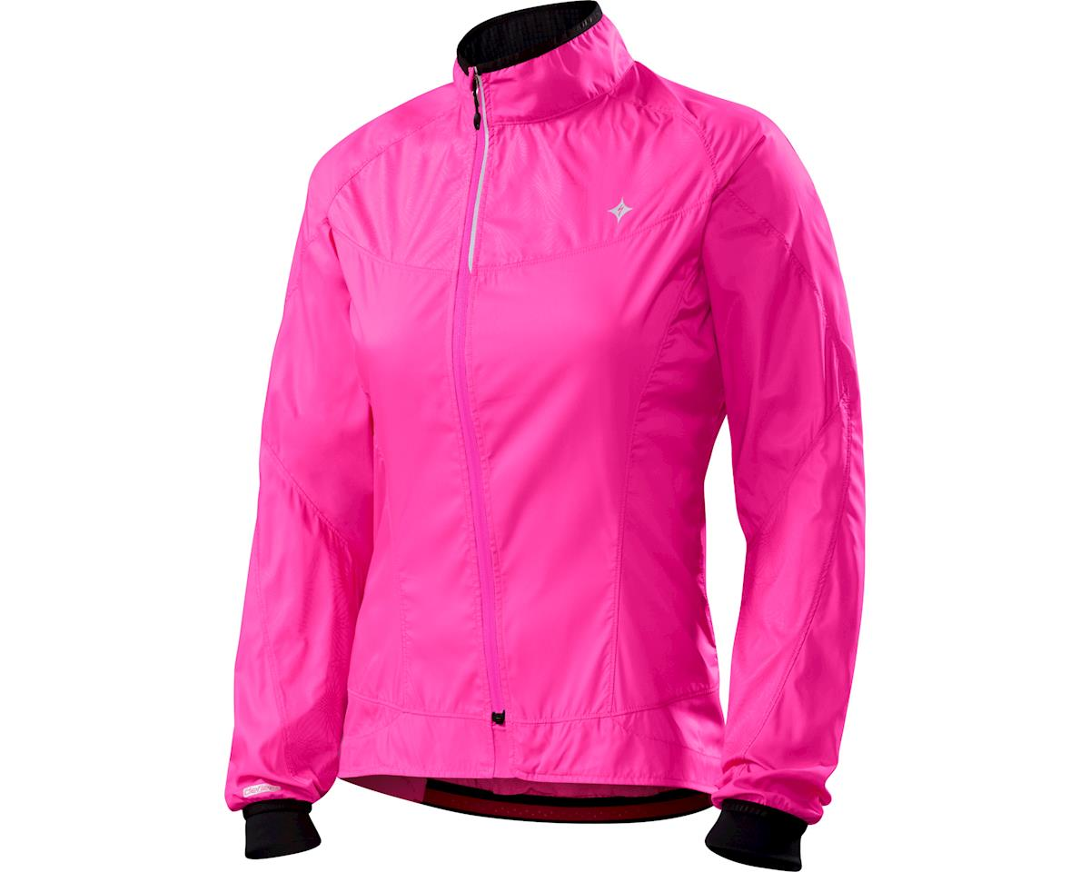 Specialized Women's Deflect H2O Comp Jacket (Neon Pink)