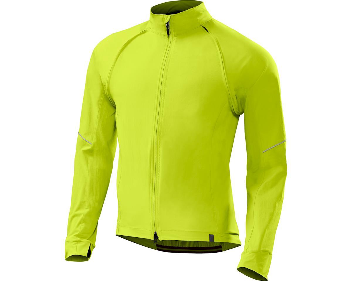 Specialized Men's Deflect Hybrid Jacket (Neon Yellow)