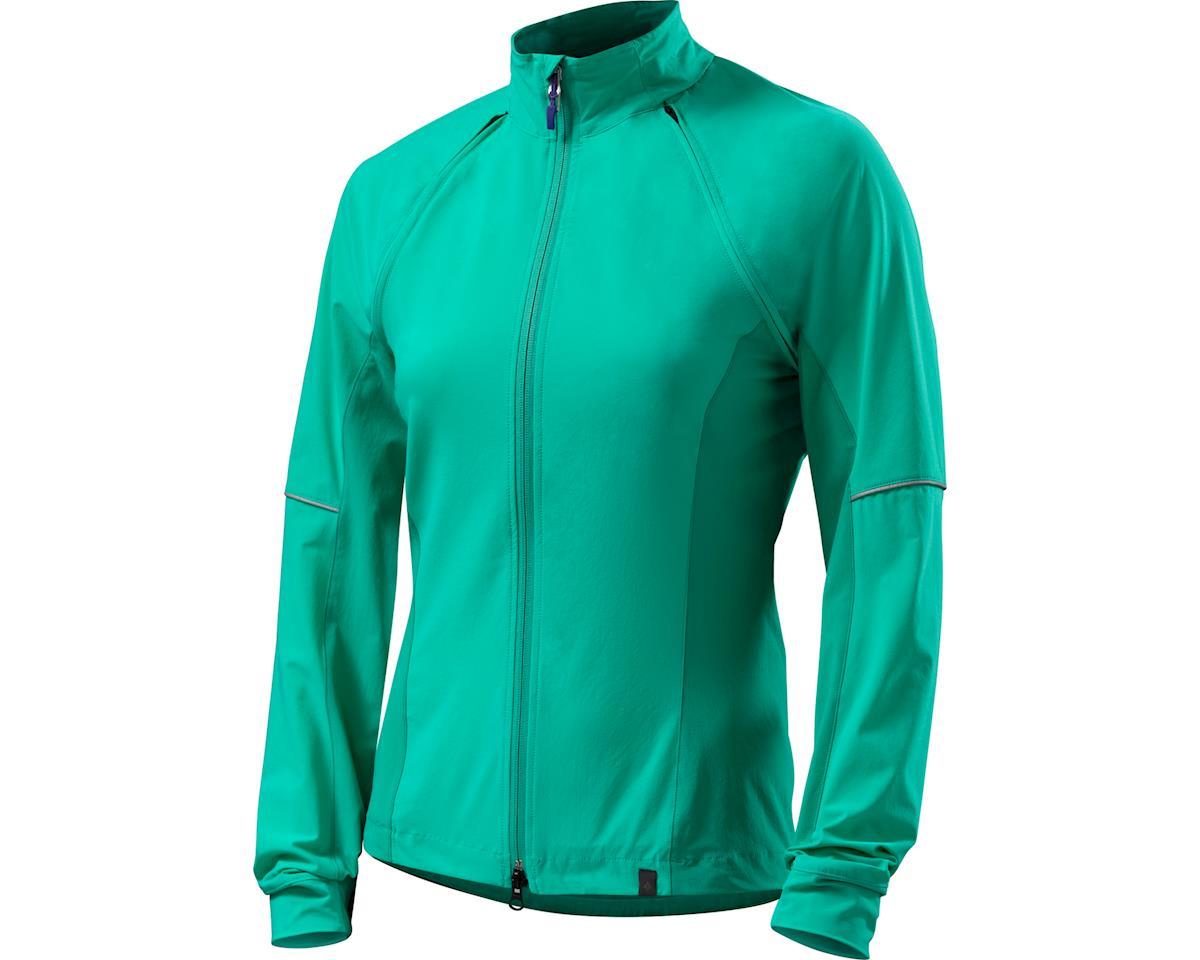Specialized Women's Deflect Hybrid Jacket (Emerald Green)