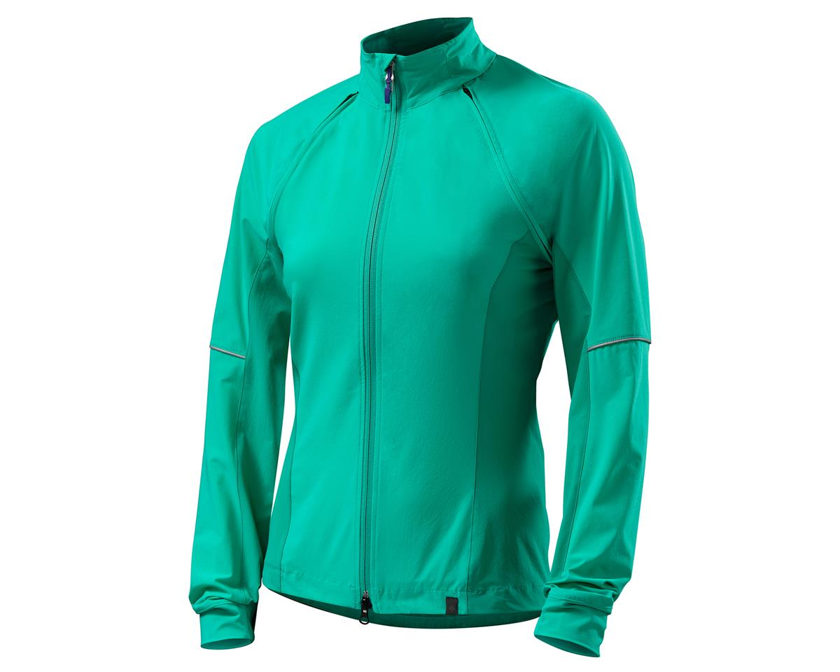 Specialized 2017 Deflect Hybrid Womens Jacket (Emerald Green) (M)