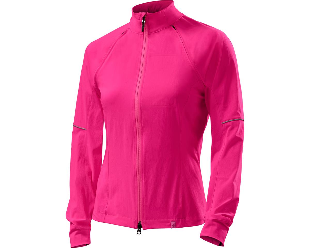 Specialized Women's Deflect Hybrid Jacket (Neon Pink) (L)