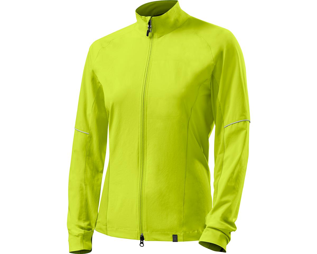 Specialized Women's Deflect Hybrid Jacket (Neon Yellow)