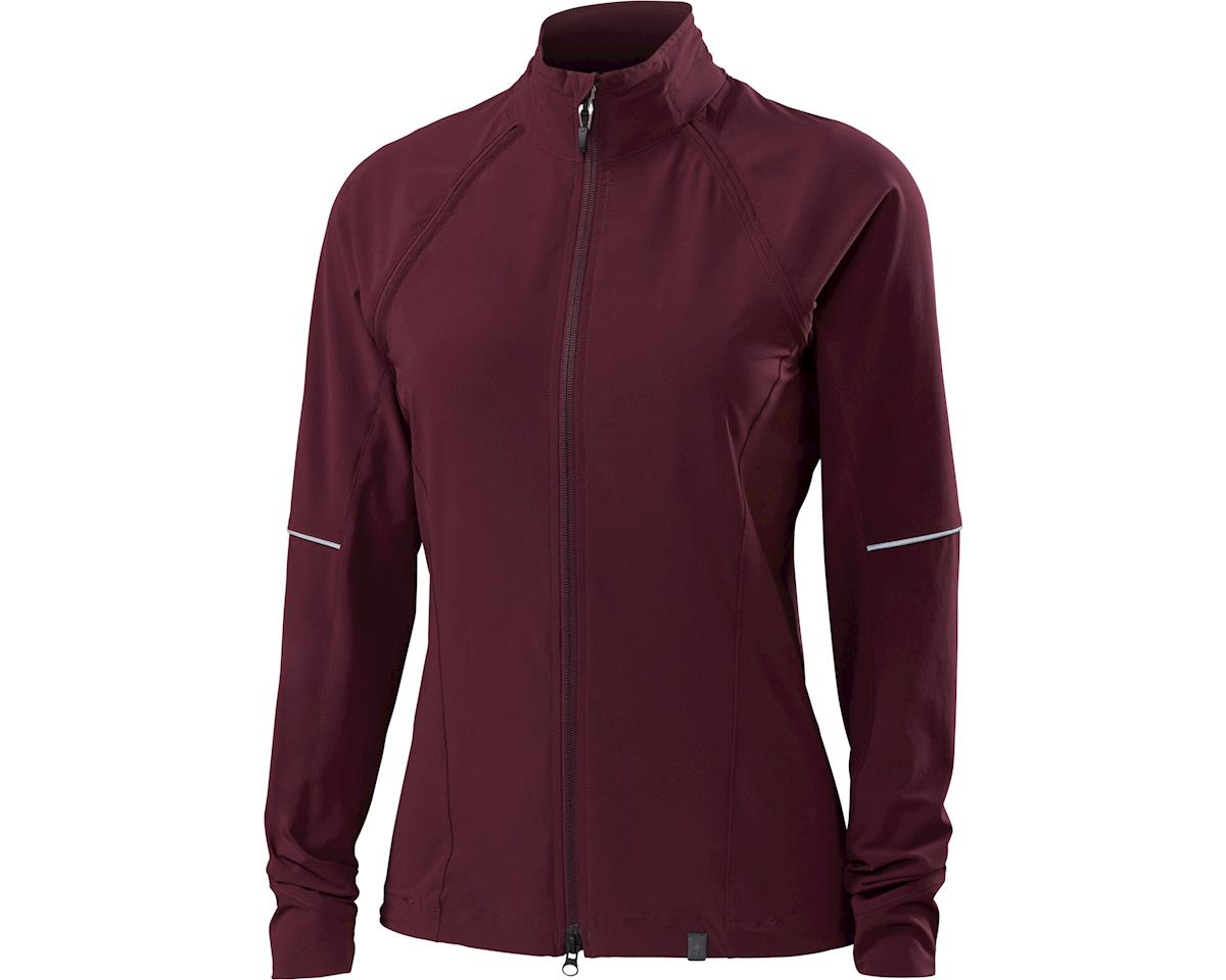 Specialized Women's Deflect Hybrid Jacket (Black Ruby)