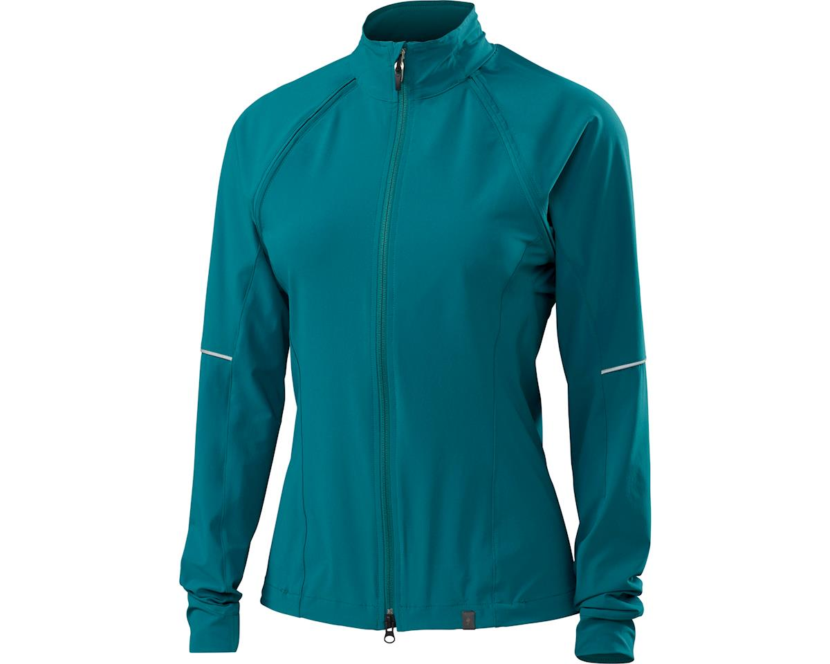 Specialized Women's Deflect Hybrid Jacket (Black Teal)