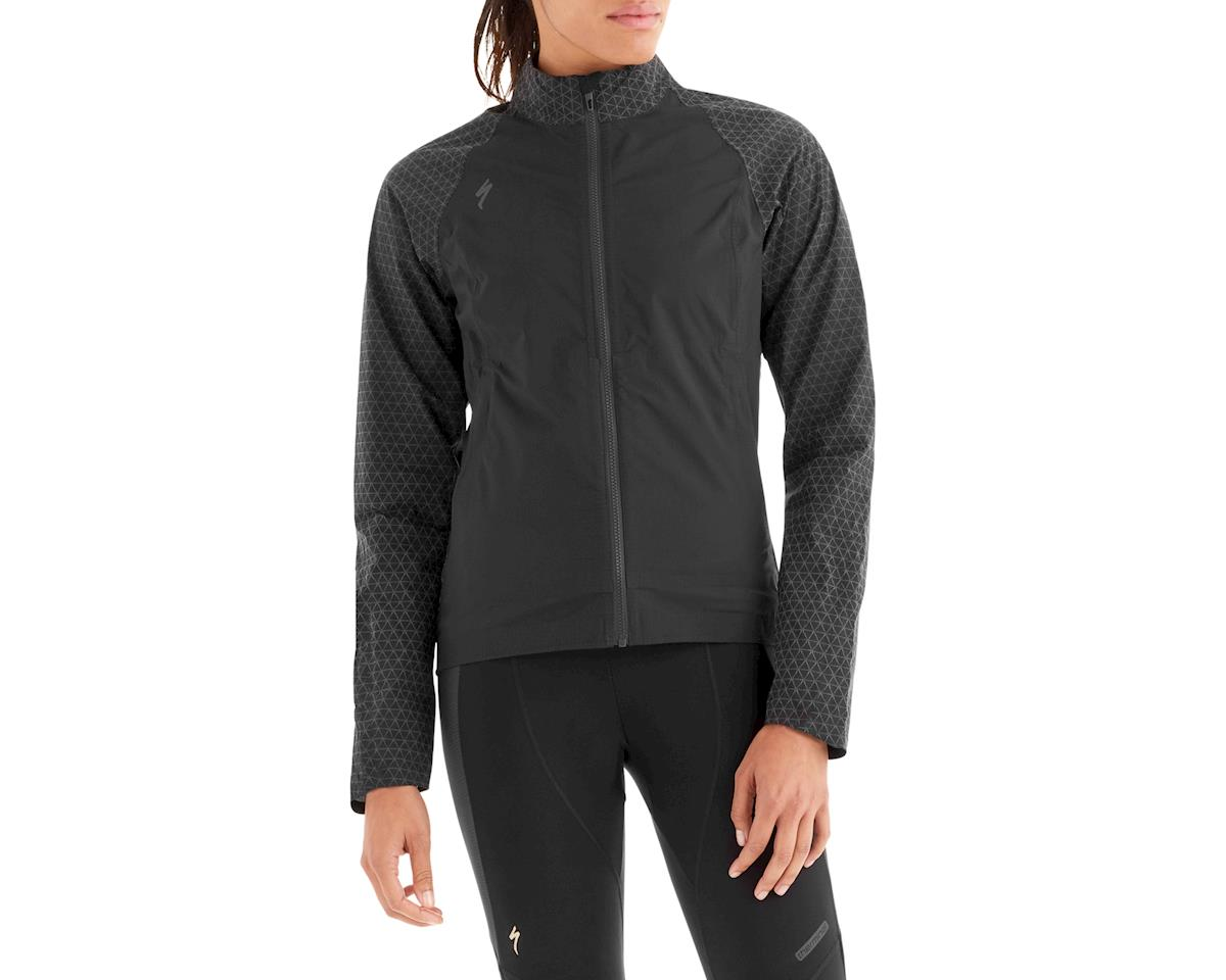 Specialized Women's Deflect Reflect H2O Jacket (Black Reflective)