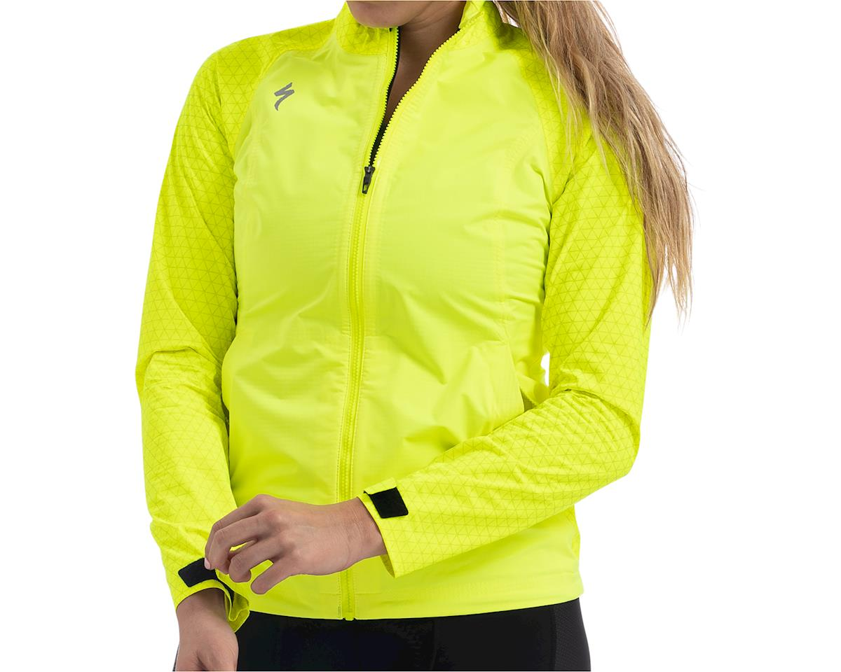 Specialized Women's Deflect Reflect H2O Jacket (Neon Yellow)
