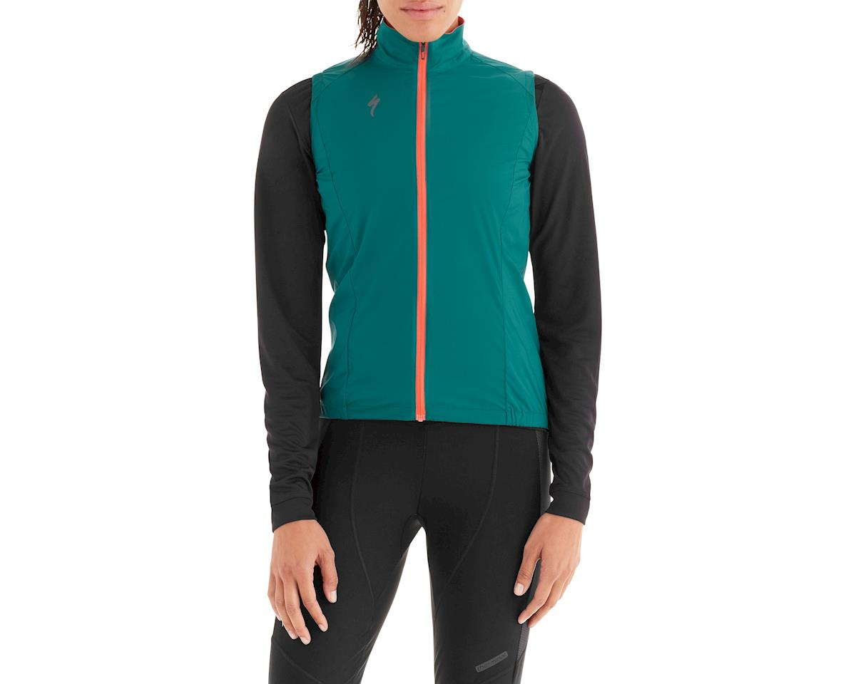Specialized Women's Deflect Wind Vest (Black Teal)