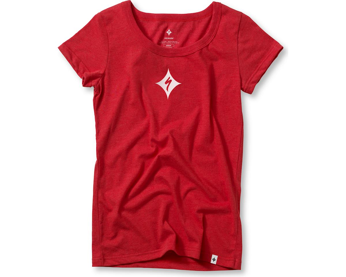 Specialized Women's Quasar Podium T-Shirt (Red/White) (S)