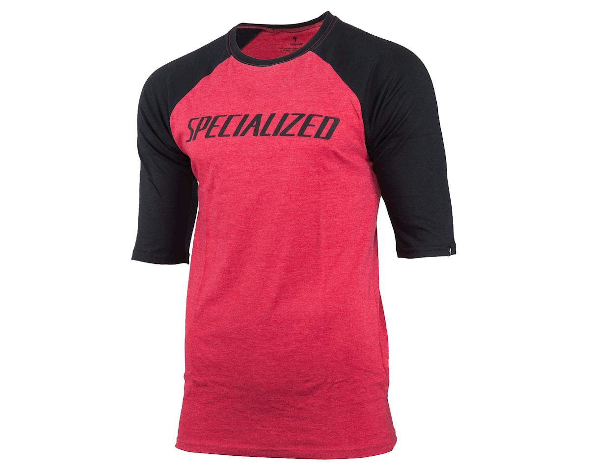 Specialized Podium 3/4 Tee (Candy Red/Black)