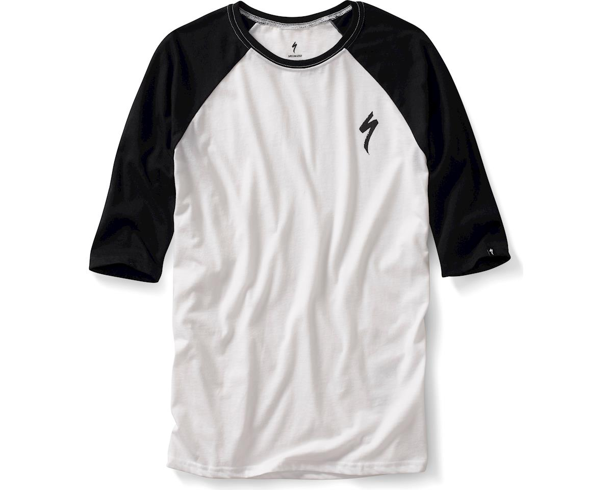 Specialized S 3/4 Tee (White/Black) (2XL)