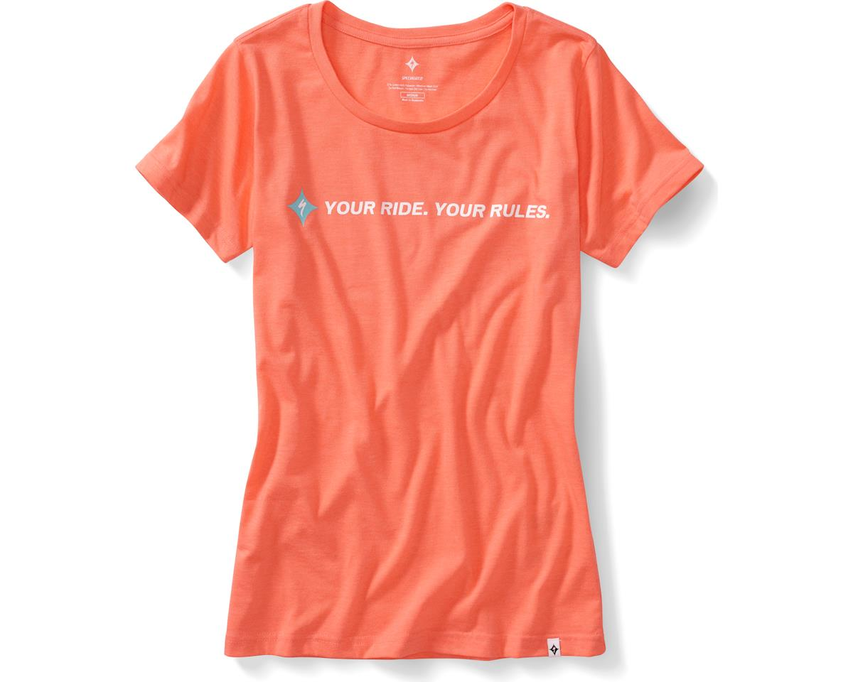 Specialized Your Ride Your Rules Women's T-Shirt (Coral) (M)