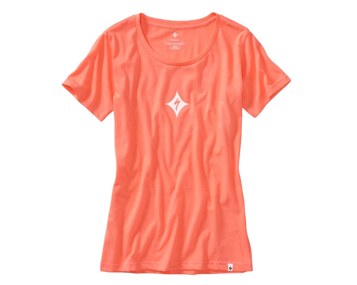 Specialized Women's Brand T-Shirt (Coral)
