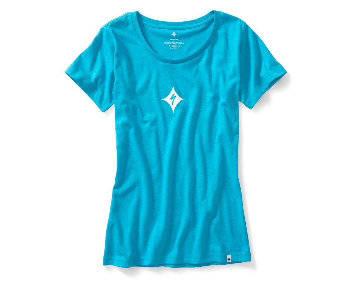 Specialized Women's Brand T-Shirt (Turquoise) (M)