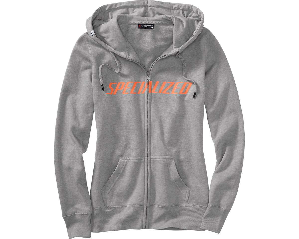 Specialized Women's Podium Hoodie (Light Grey/Coral)