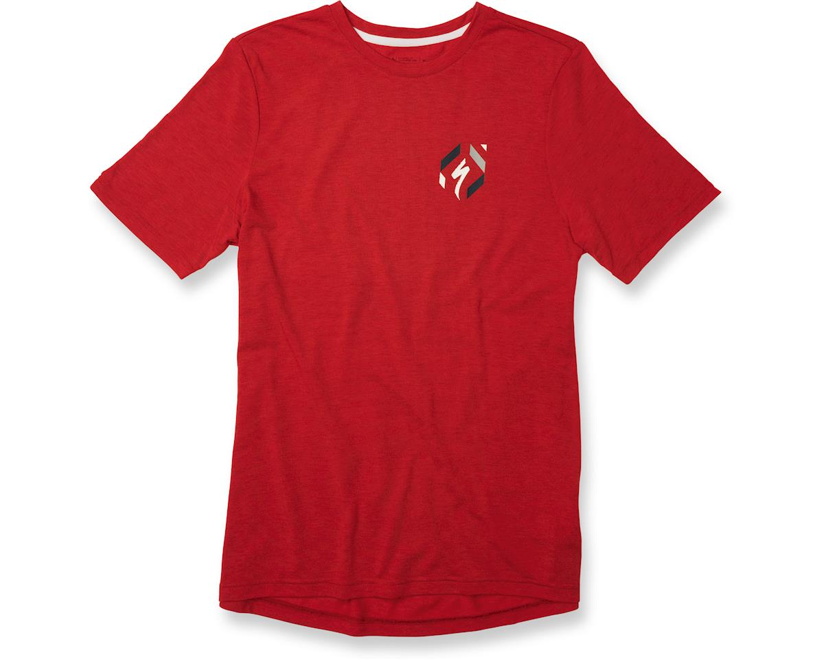 Specialized Drirelease '74 T-Shirt (Red Heather/Cream) (M)