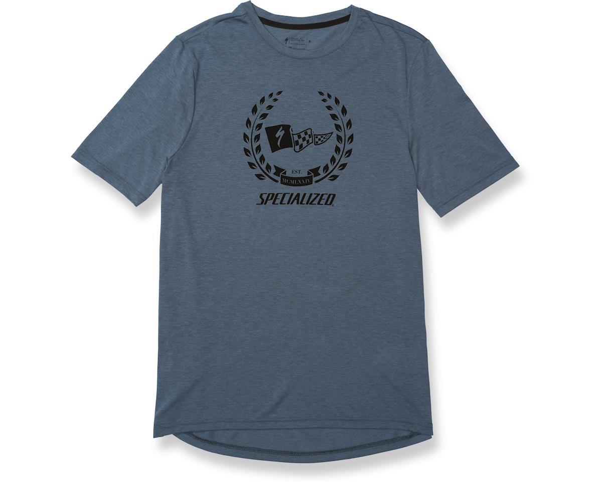 Specialized Drirelease Champion T-Shirt (Dust Blue Heather/Black)