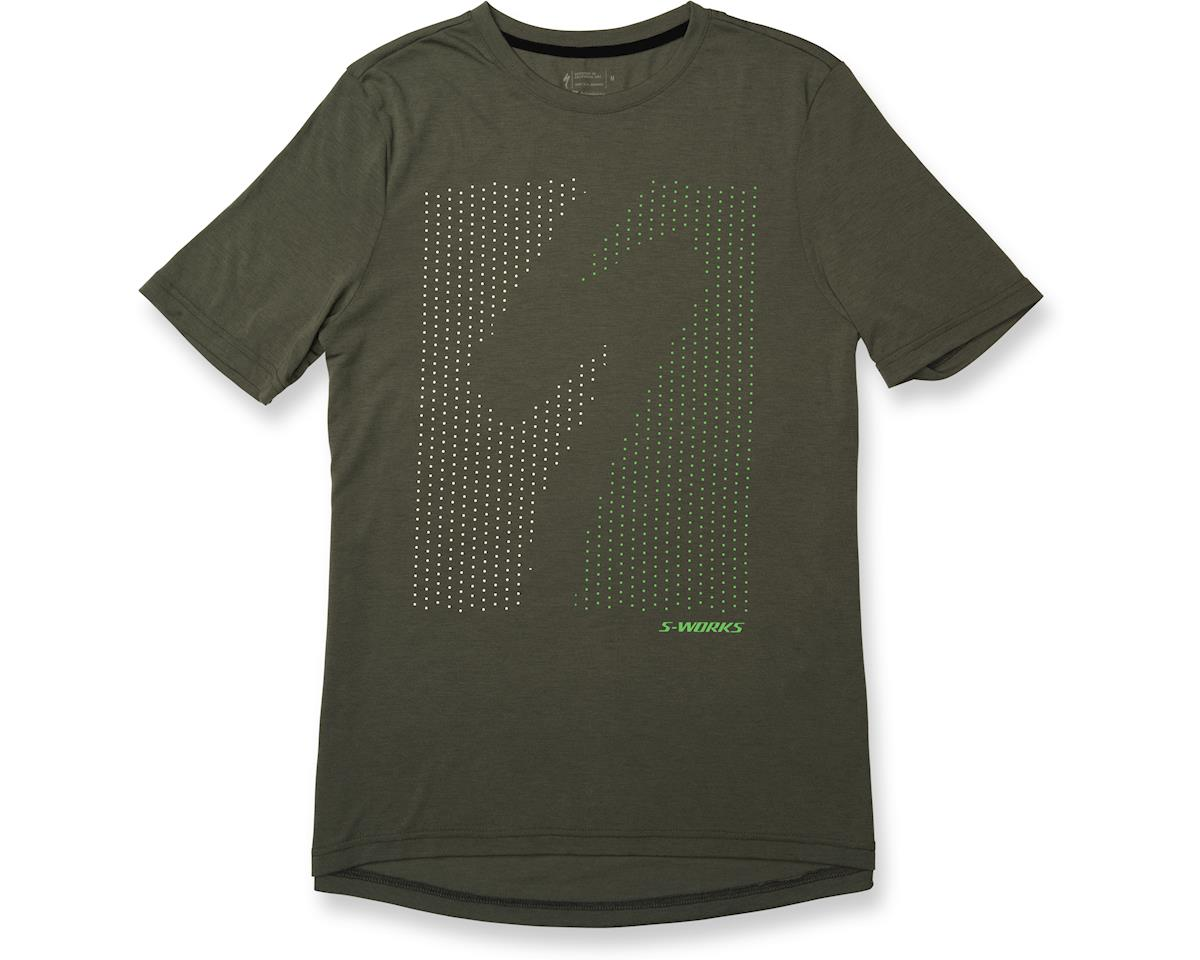 Specialized drirelease Shadow T-Shirt (Shadow Oak Green/Acid Kiwi)