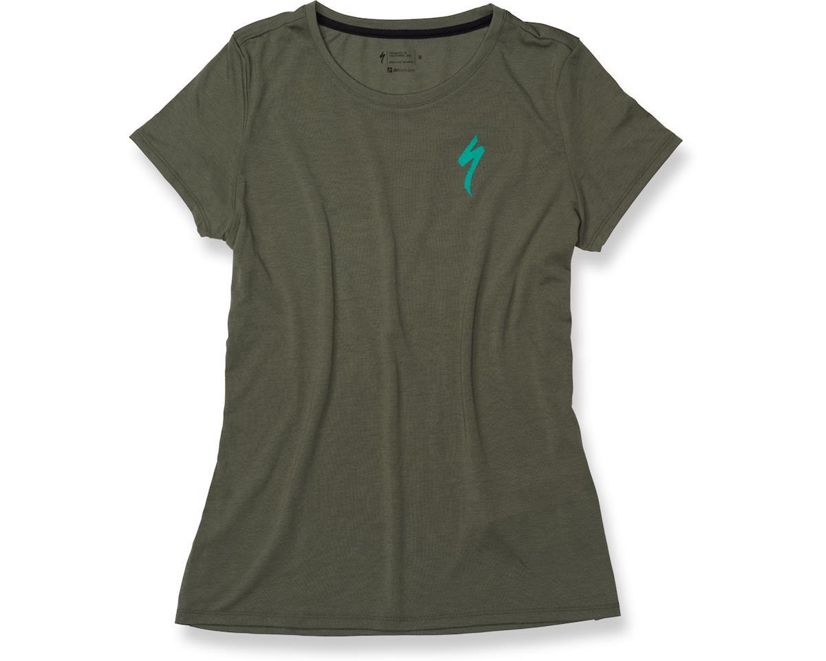 Specialized Women's drirelease T-Shirt (Oak Green/Acid Mint)