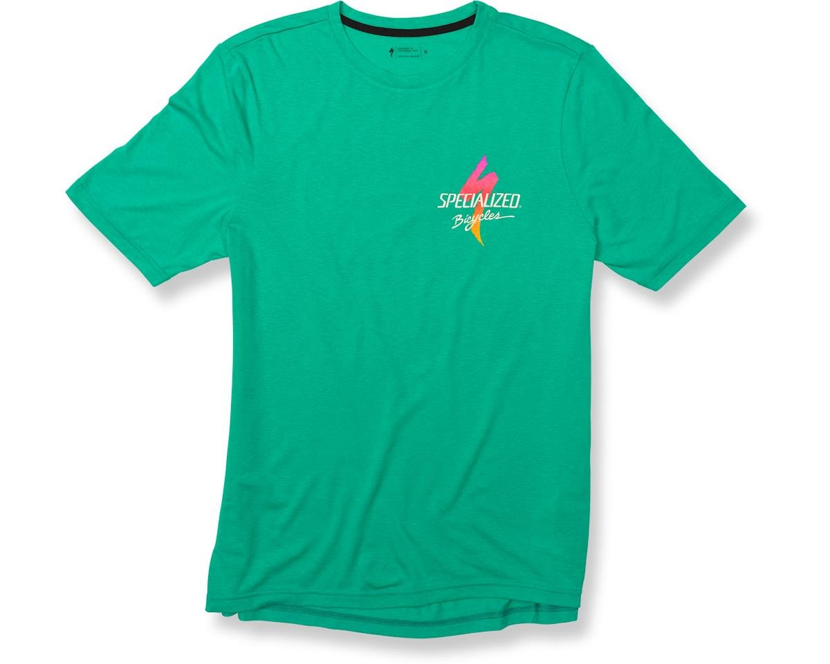 Specialized Boardwalk Standard T-Shirt (Acid Mint/Fade)