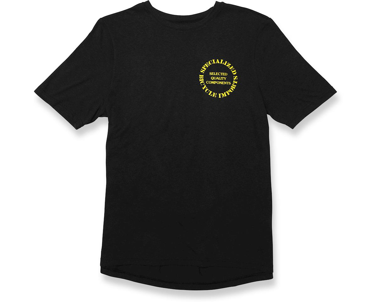 Specialized Original Standard T-Shirt (Black/Yellow)