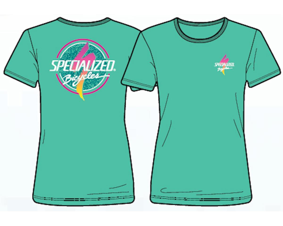 Specialized Women's Boardwalk T-Shirt (Acid Mint/Fade)