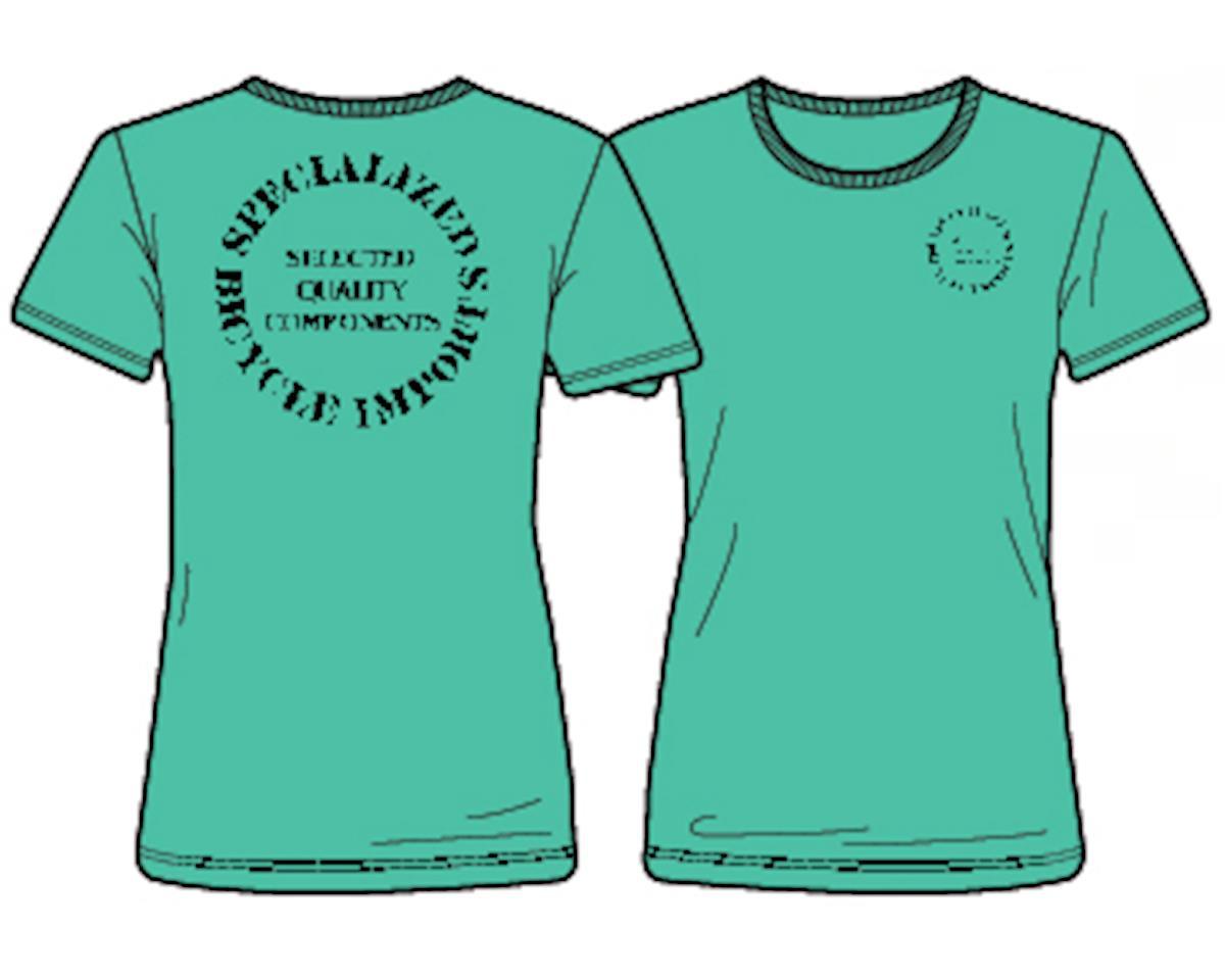 Specialized Women's Original T-Shirt (Acid Mint/Black)