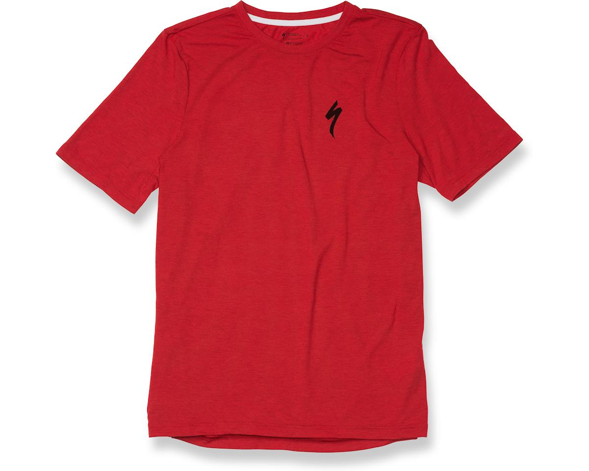 Specialized drirelease S Logo Tee (Red Heather/Black)