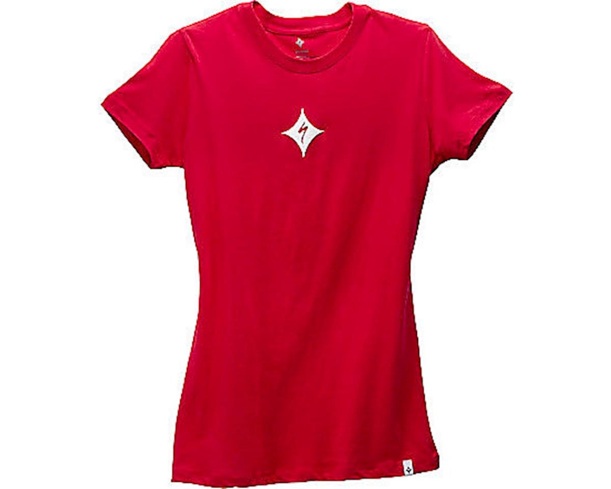 Specialized Women's Brand T-Shirt (Red/White) (L)