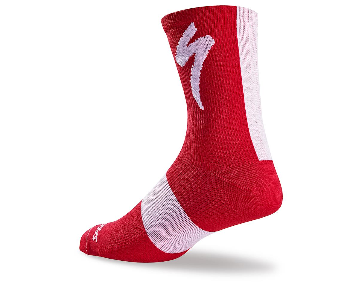 Specialized 2017 SL Tall Socks (Red) (S/M)