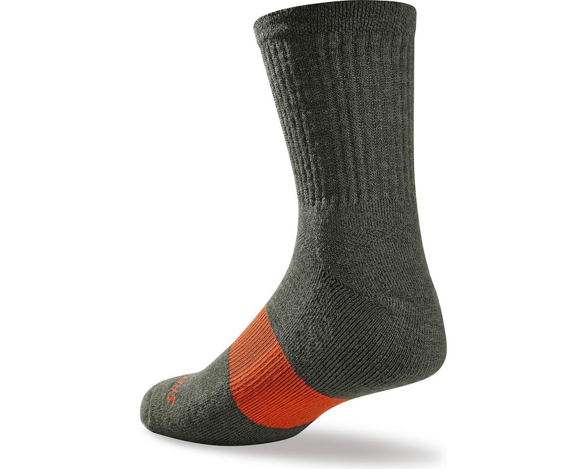 Specialized Mountain Tall Socks (Oak Heather) (Small/Medium)