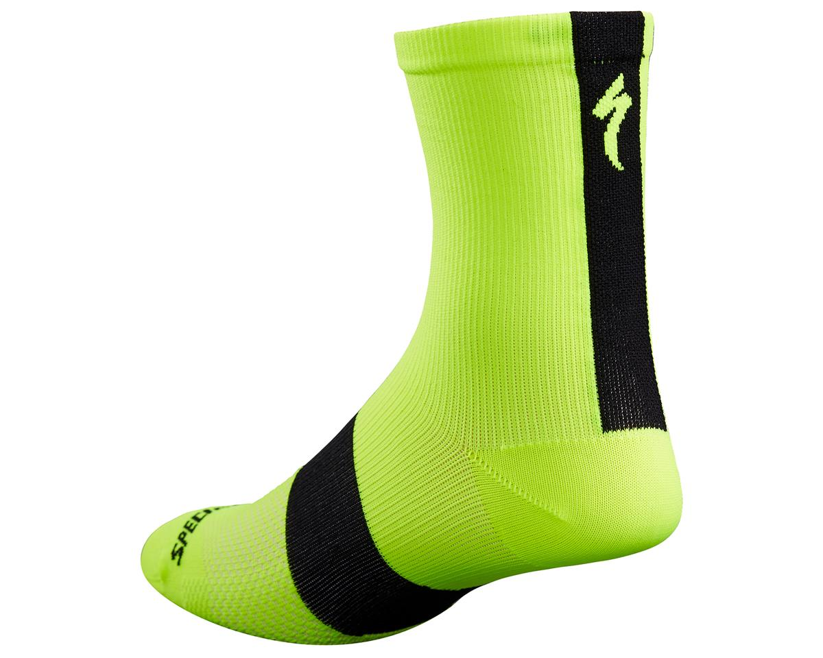 Specialized 2017 SL Tall Socks (Neon Yellow) (L/XL)