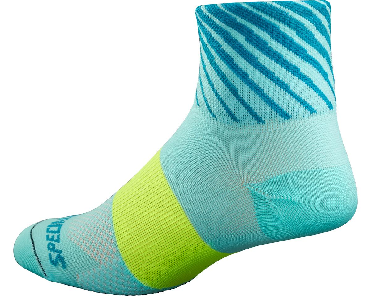 Specialized RBX Women's Mid Socks (Light Turquoise/Turquoise)