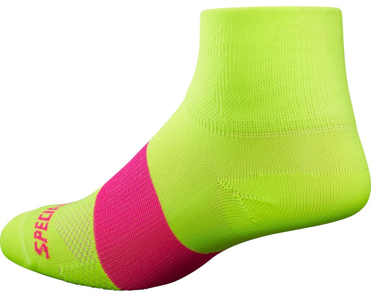 Specialized RBX Women's Mid Socks (Neon Yellow)