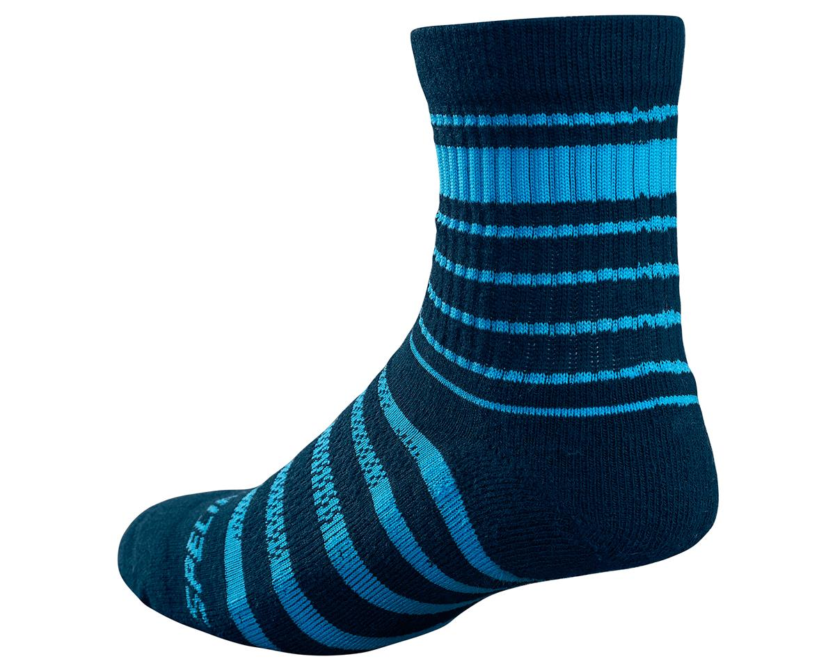 Specialized 2017 Mountain Tall Socks (Navy/Neon Blue) (S/M)