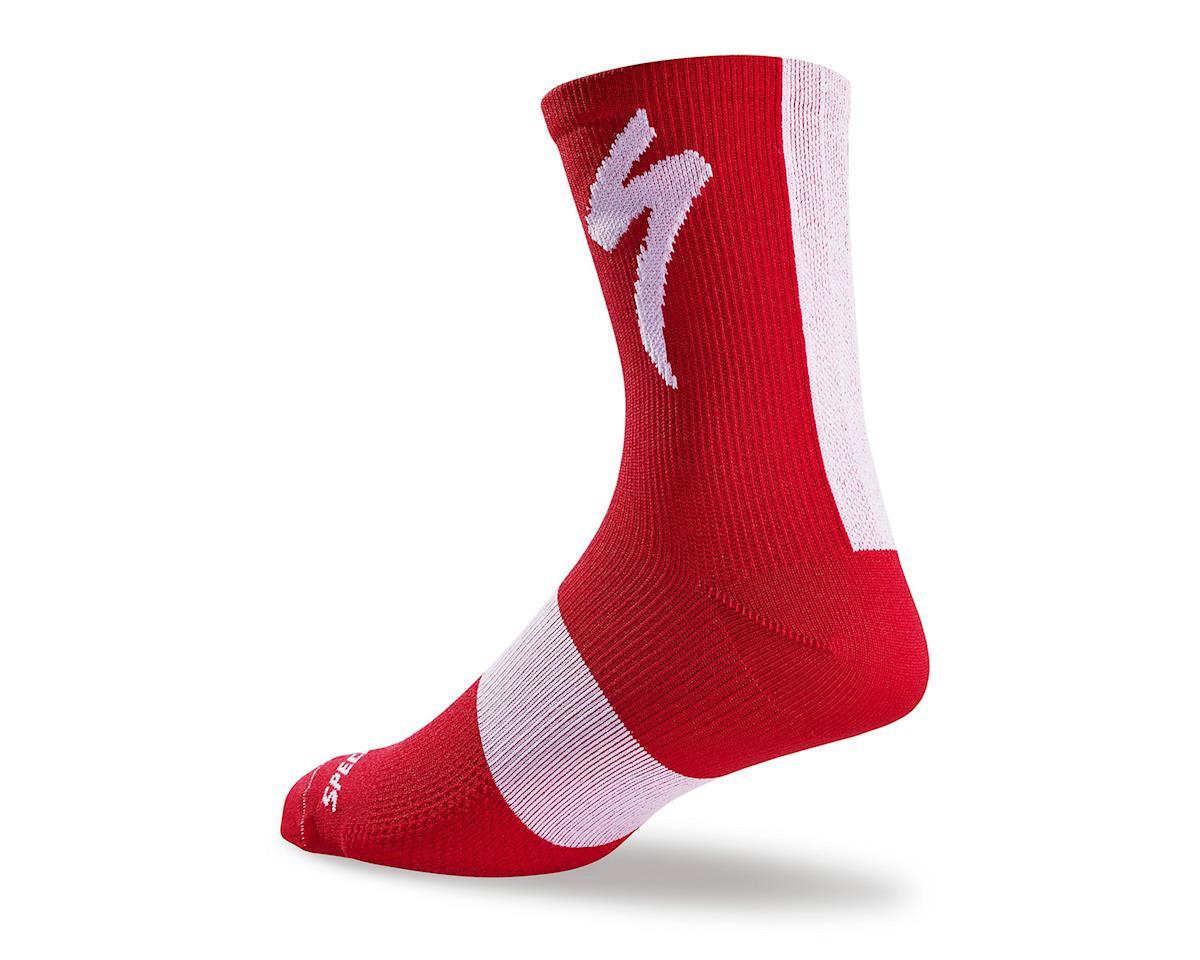Specialized SL Tall Socks (Red) (L/XL)