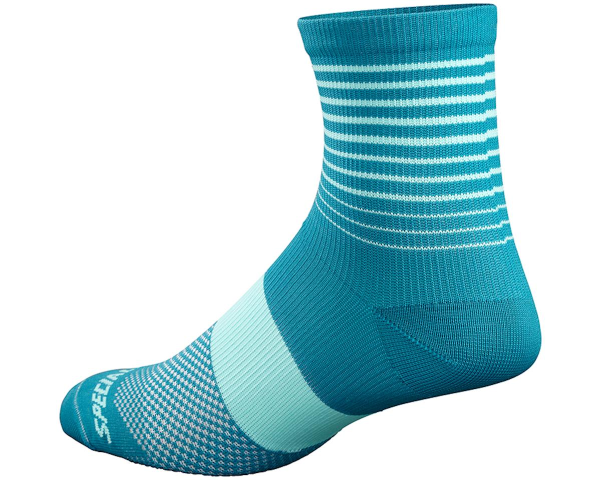 Specialized Women's SL Mid Socks (Turquoise)