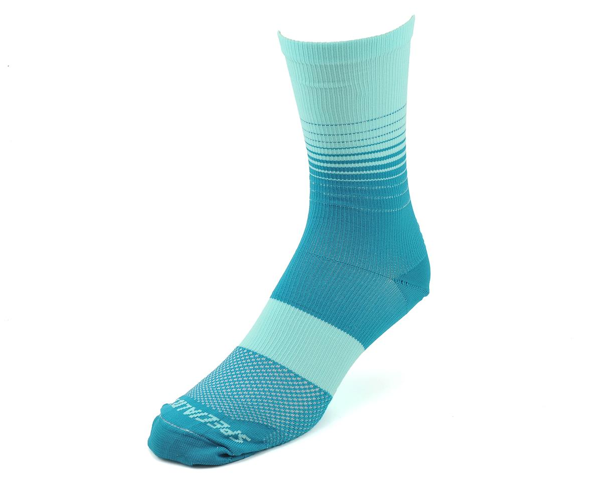 Specialized Women's SL Tall Socks (Turquoise Fade)