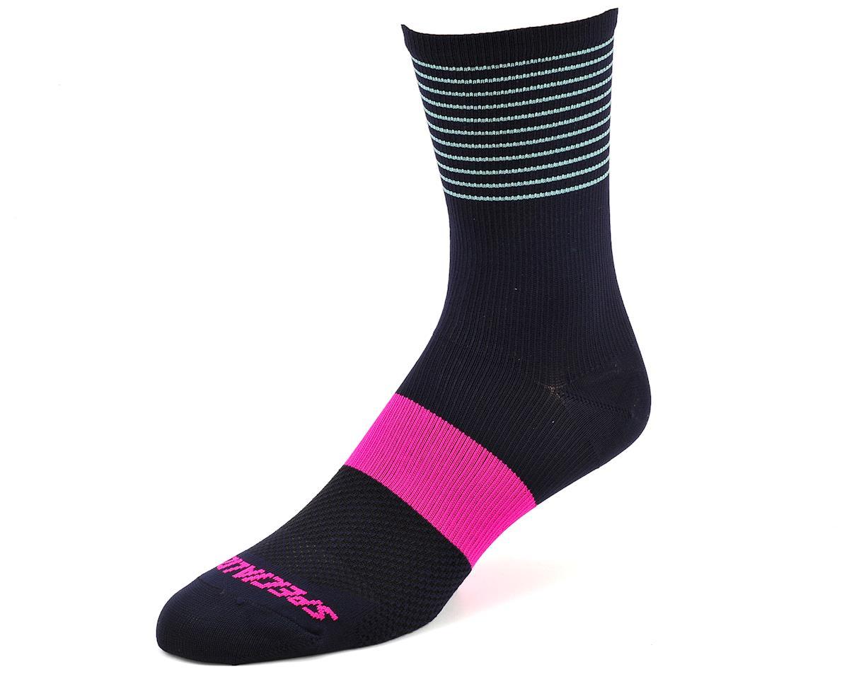 Specialized Women's SL Tall Socks (Navy) (M/L)
