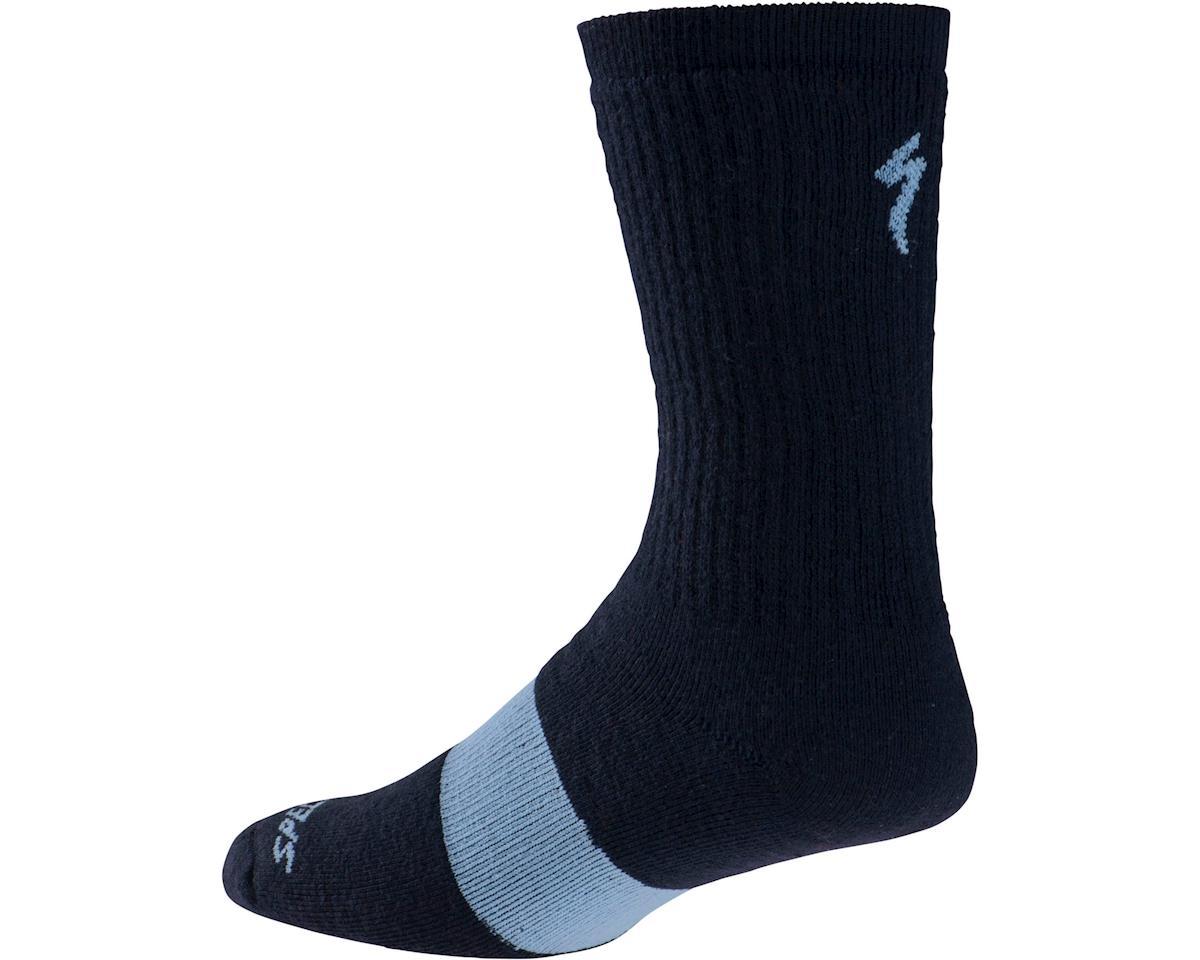 Specialized Merino Tall Socks (Navy) (S/M) [64717-1322] | Clothing
