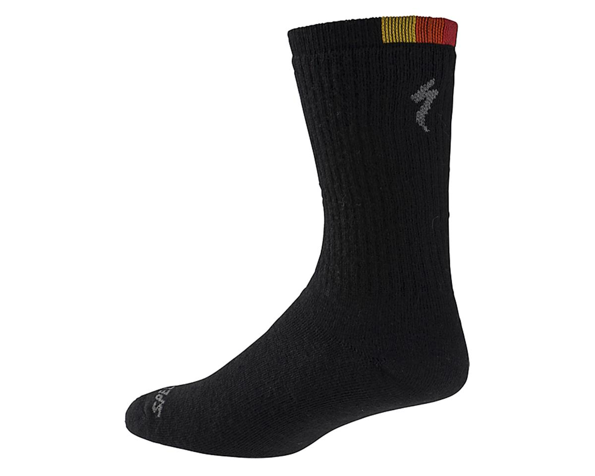Specialized Winter Wool Tall Sock (Black) (S/M)