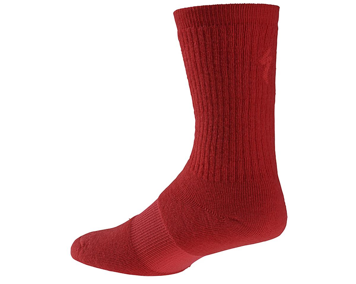 Specialized Winter Tall Wool Sock (Red)