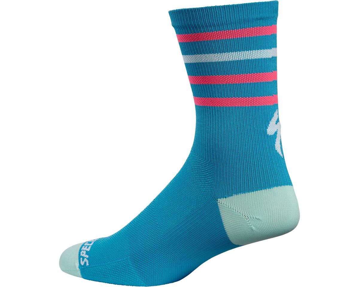Specialized Road Tall Socks (Neon Blue)