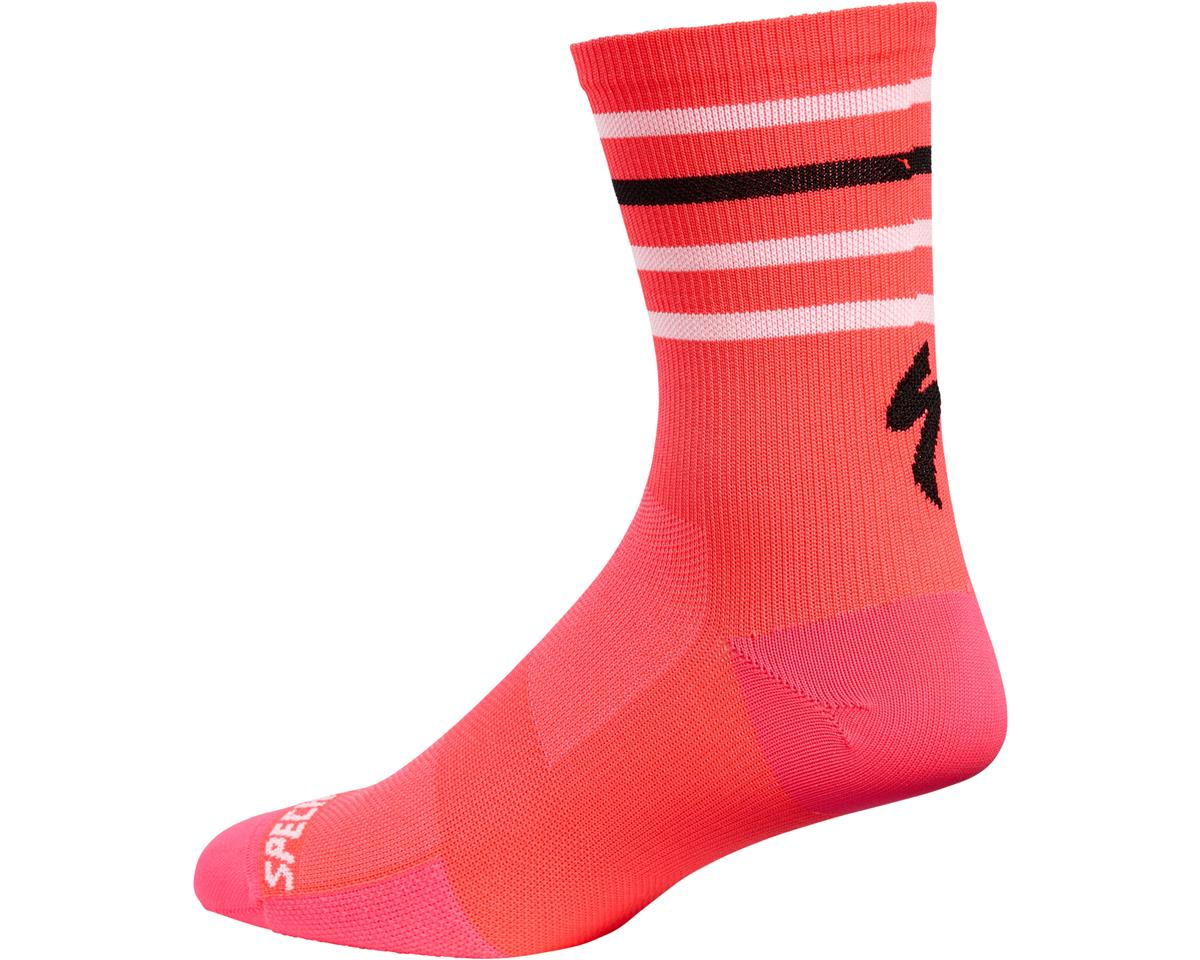 Specialized Road Tall Socks (Acid Red)