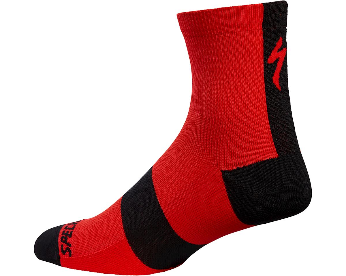 Specialized Road Mid Socks (Red) (S)