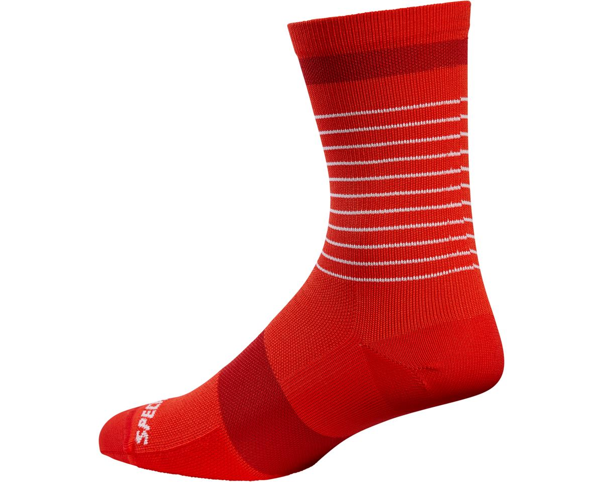 Specialized Road Tall Socks (Red/Red)