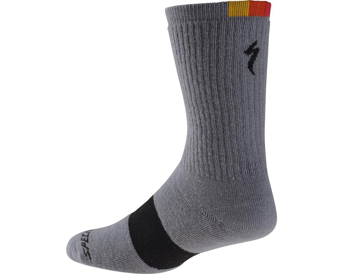 Specialized Merino Tall Socks (Light Grey) (L)