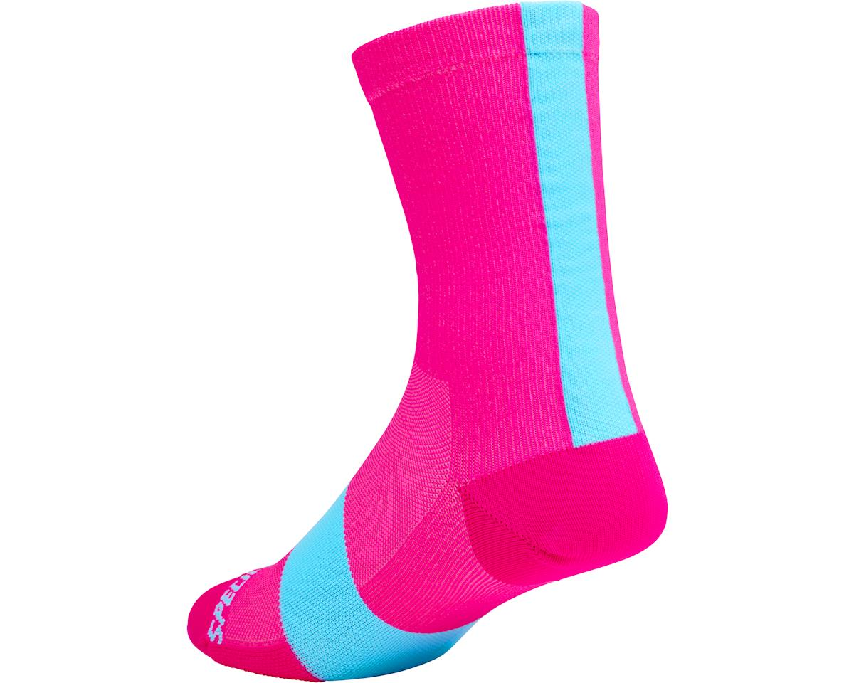 Specialized Road Tall Socks (Neon Pink)