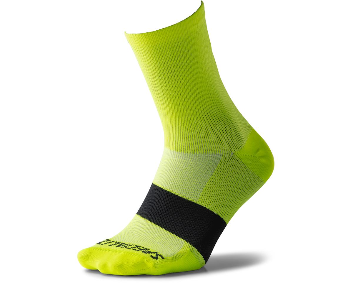 Specialized Road Mid Socks (Neon Yellow) (S)