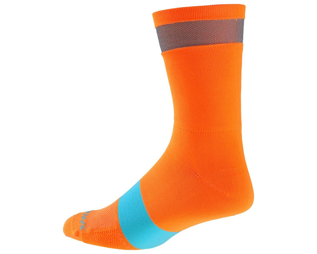 Specialized Reflect Tall Socks (Neon Orange)