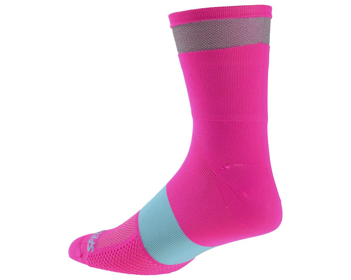 Specialized Reflect Tall Socks (Neon Pink)